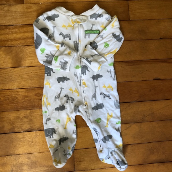 Carter's Other - FREE Carter's Animal Footie Sleeper Suit Neutral